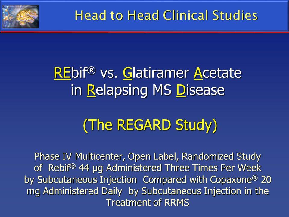 Head to Head Clinical Studies