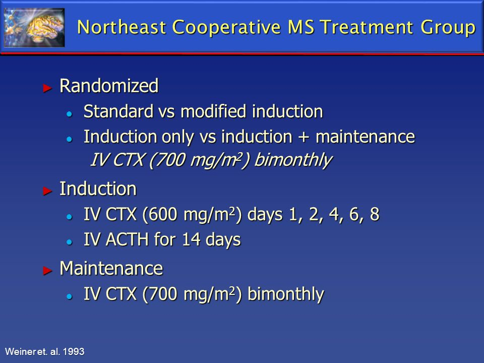 Northeast Cooperative MS Treatment Group