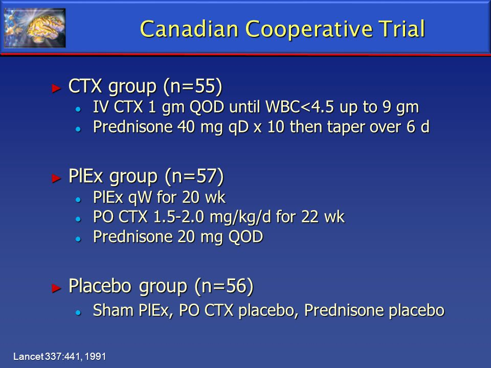 Canadian Cooperative Trial