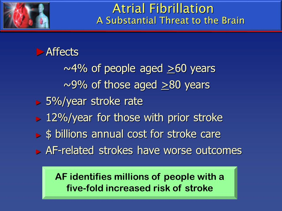 Atrial Fibrillation A Substantial Threat to the Brain
