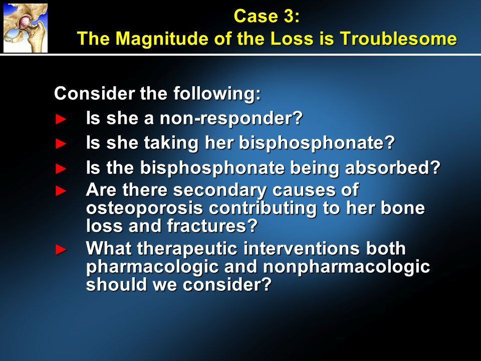 Case 3: The Magnitude of the Loss is Troublesome