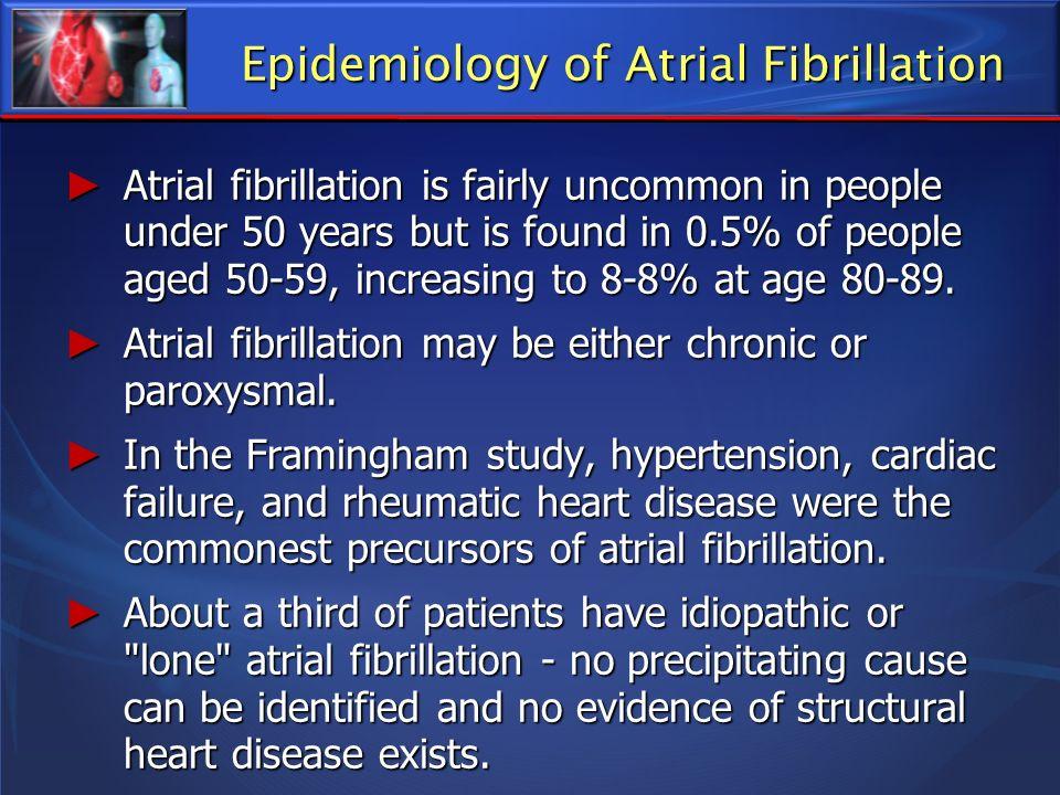 Epidemiology of Atrial Fibrillation