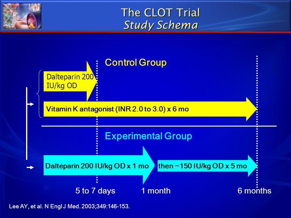 The CLOT Trial Study Schema