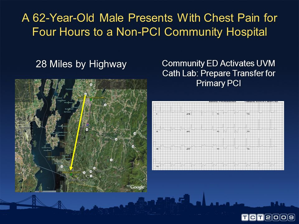 Community ED Activates UVM Cath Lab: Prepare Transfer for Primary PCI