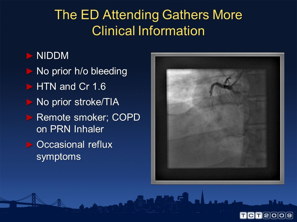 The ED Attending Gathers More Clinical Information