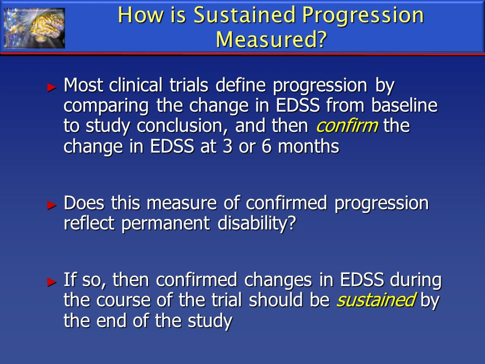 How is Sustained Progression Measured