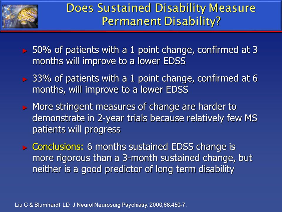 Does Sustained Disability Measure Permanent Disability