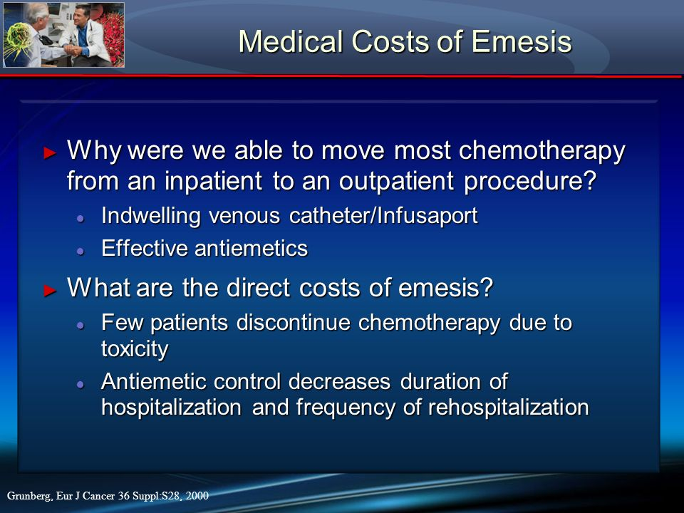 Medical Costs of Emesis