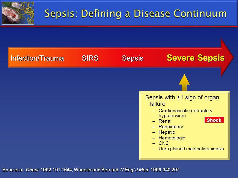 Sepsis: Defining a Disease Continuum