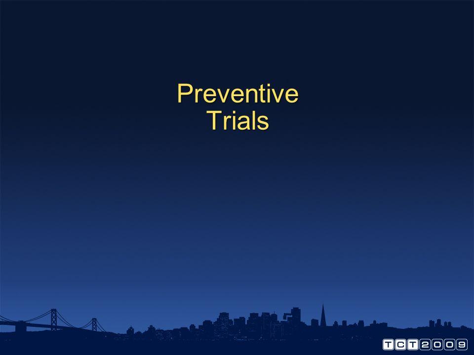 Preventive Trials How to prevent CIN
