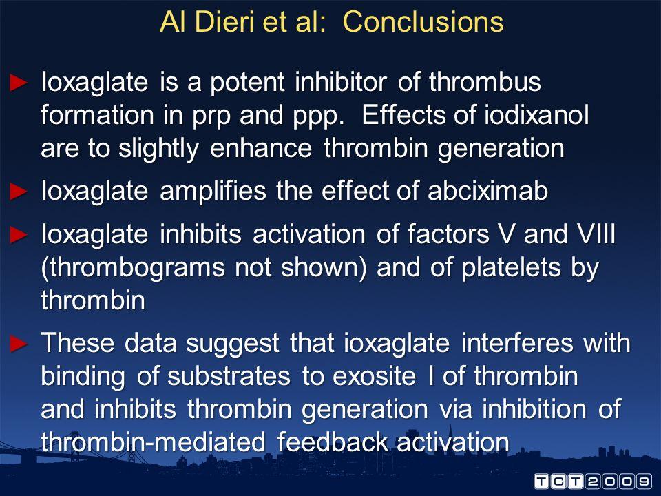 Al Dieri et al: Conclusions