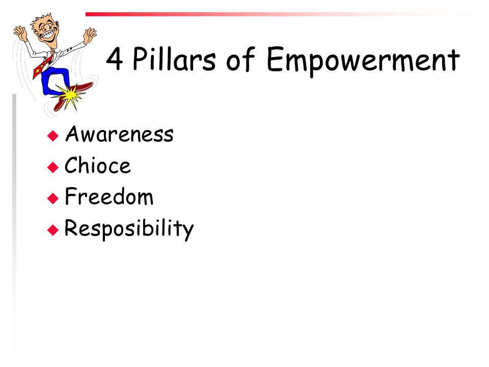 4 Pillars of Empowerment