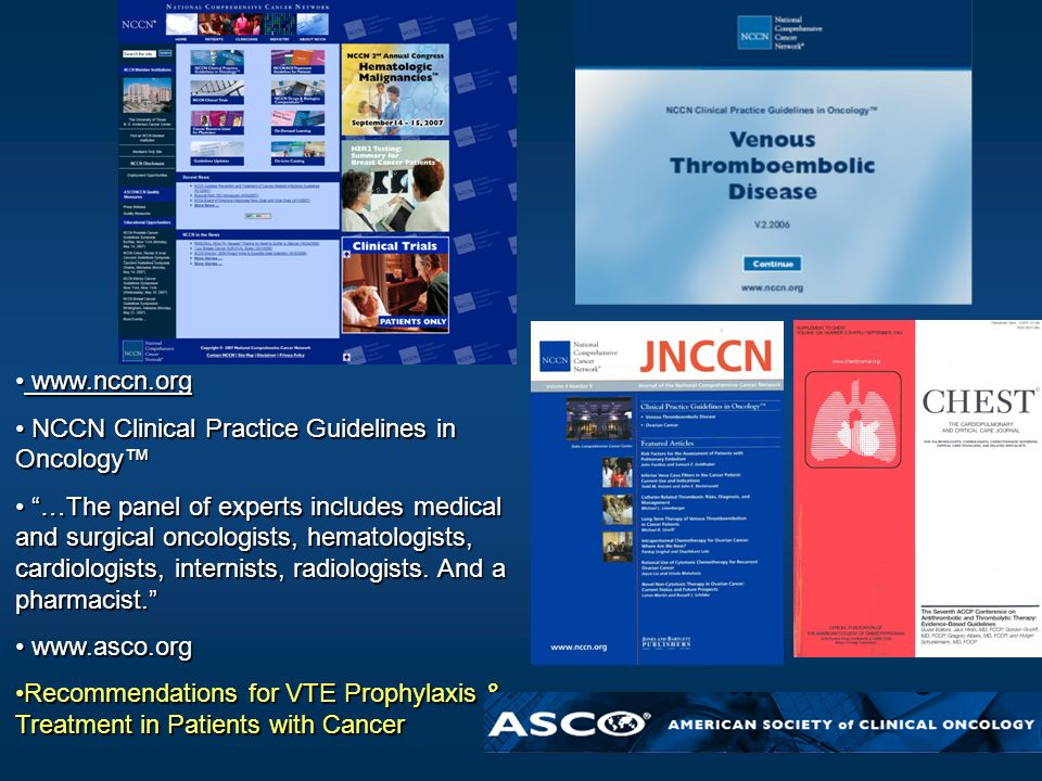www.nccn.org NCCN Clinical Practice Guidelines in Oncology™