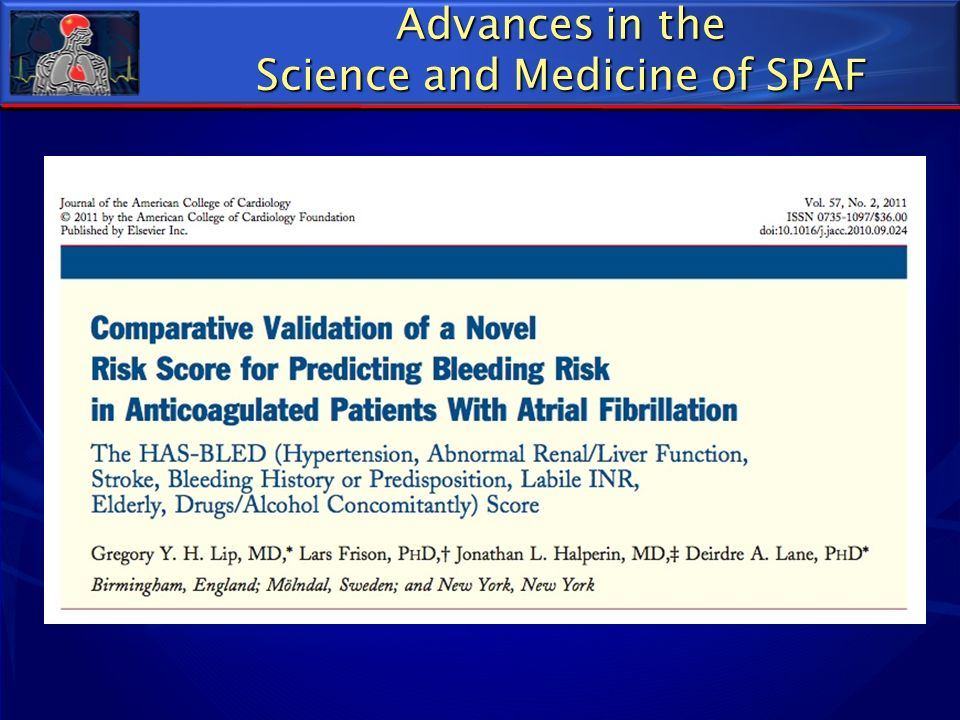 Science and Medicine of SPAF