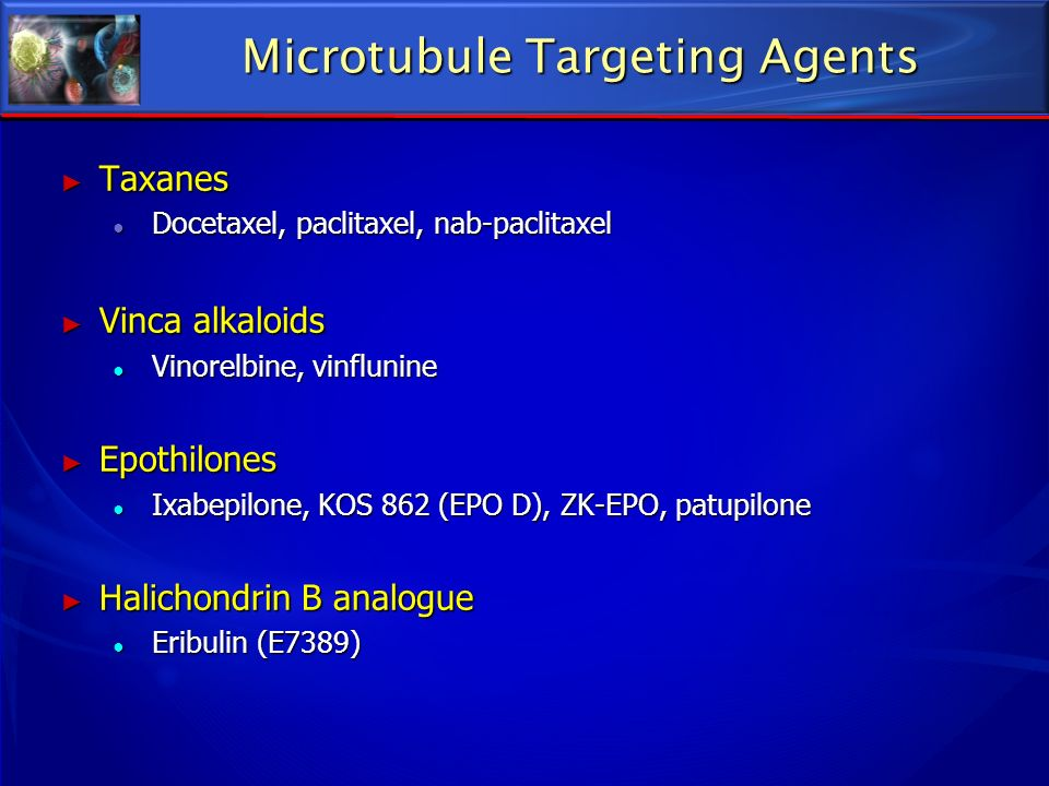 Microtubule Targeting Agents