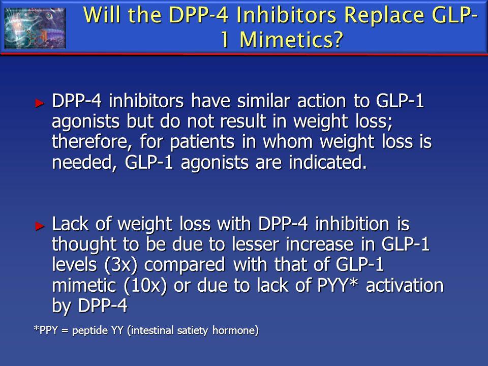 Will the DPP-4 Inhibitors Replace GLP-1 Mimetics