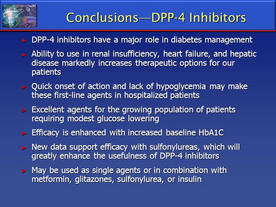 Conclusions—DPP-4 Inhibitors