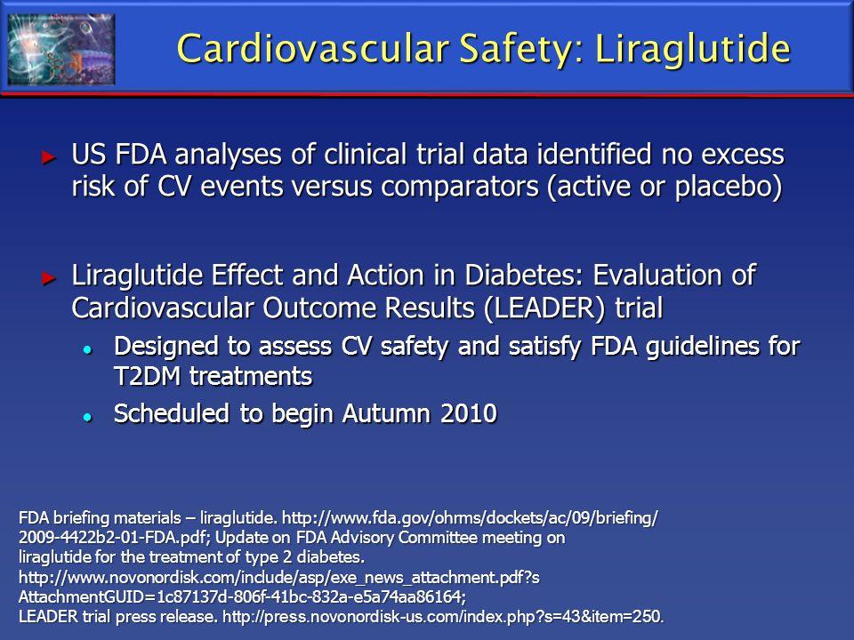Cardiovascular Safety: Liraglutide