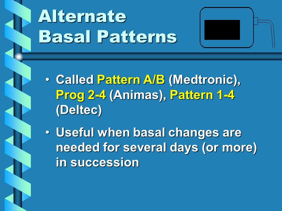 Alternate Basal Patterns