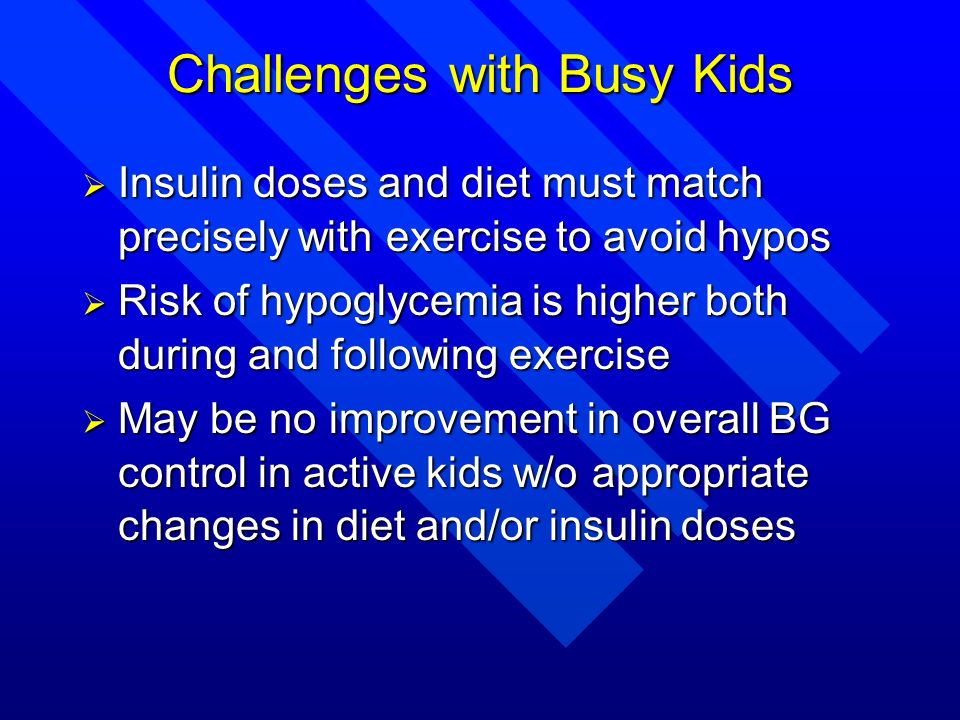 Challenges with Busy Kids