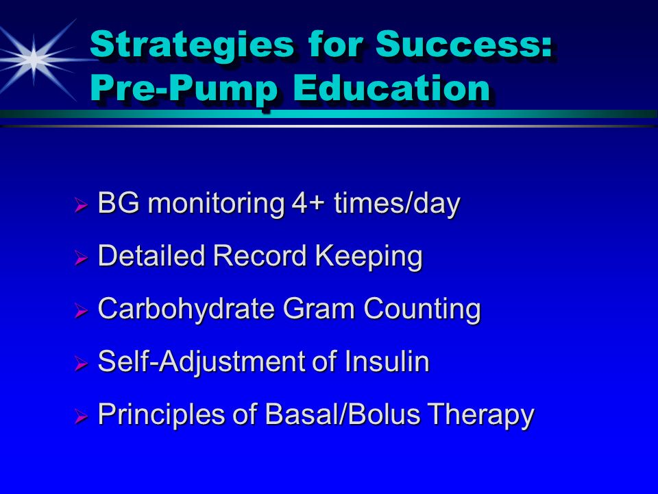 Strategies for Success: Pre-Pump Education