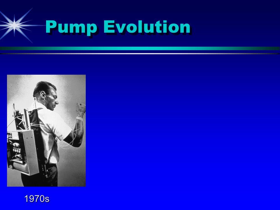 Pump Evolution 1970s