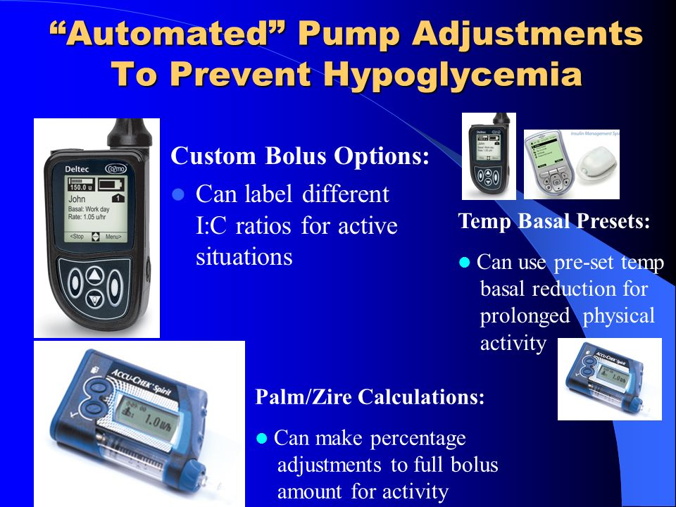Automated Pump Adjustments To Prevent Hypoglycemia