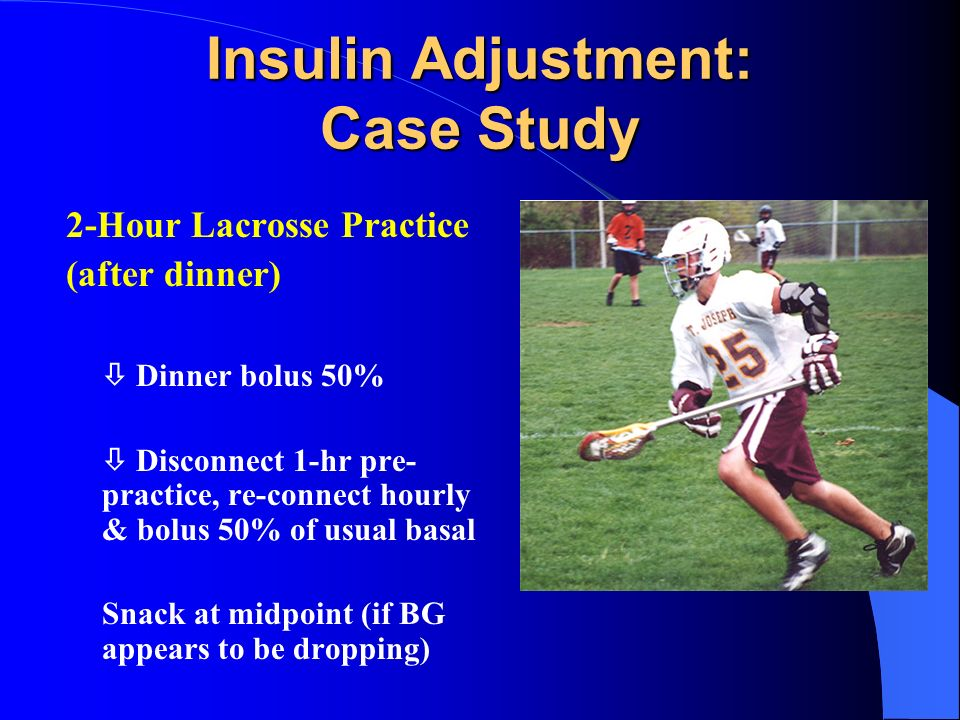Insulin Adjustment: Case Study