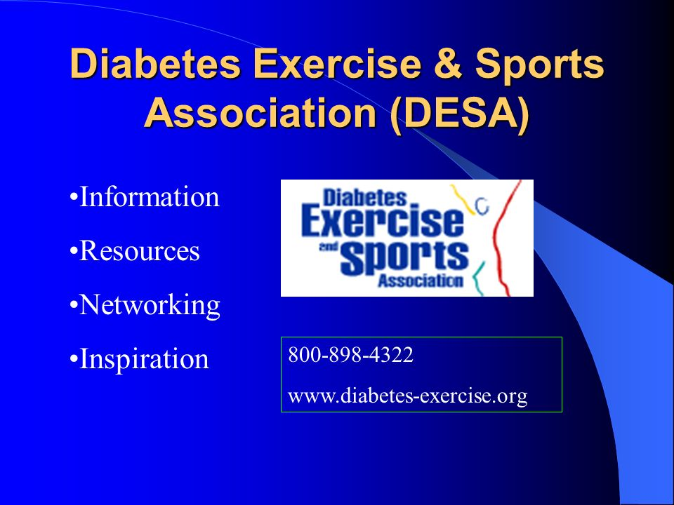 Diabetes Exercise & Sports Association (DESA)