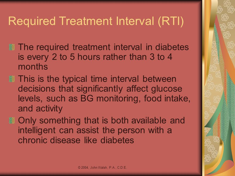 Required Treatment Interval (RTI)