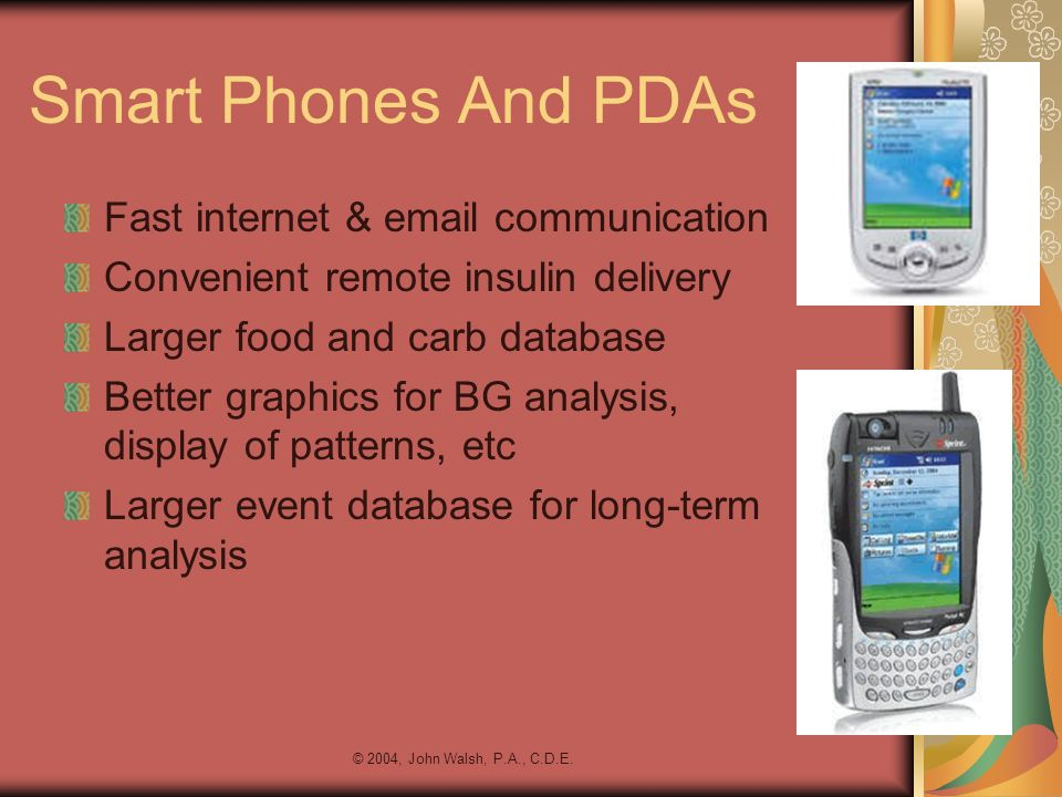 Smart Phones And PDAs Fast internet & email communication