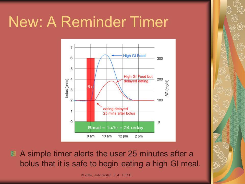 New: A Reminder Timer