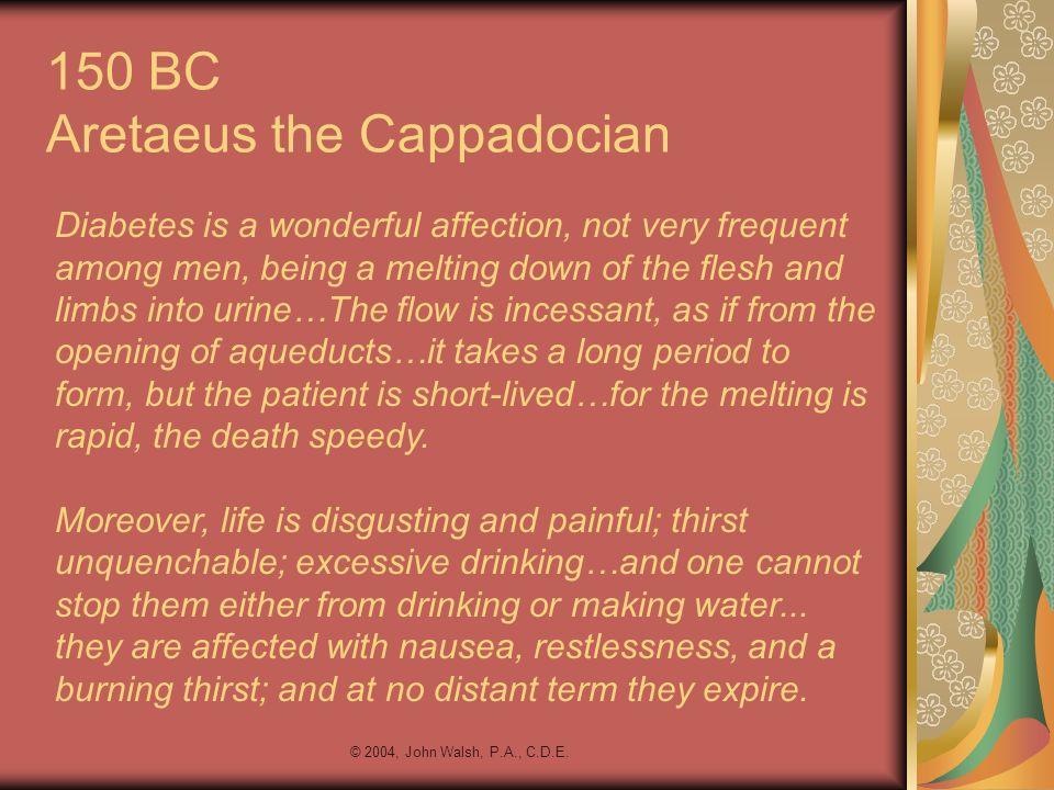 150 BC Aretaeus the Cappadocian