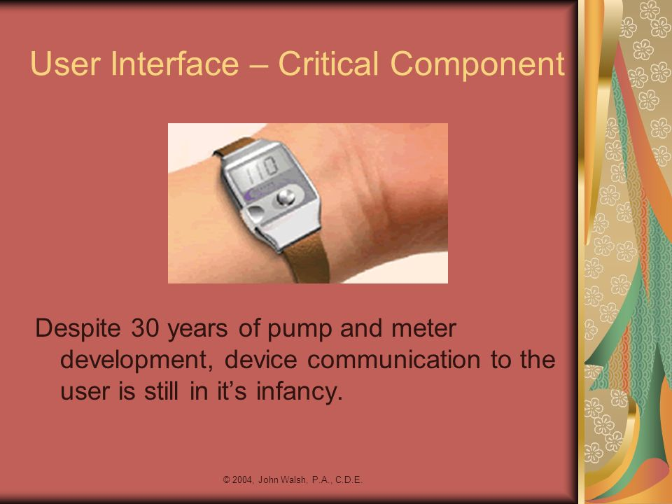 User Interface – Critical Component