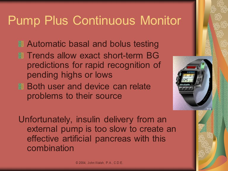 Pump Plus Continuous Monitor