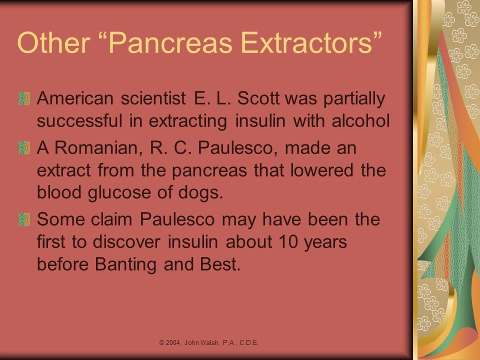 Other Pancreas Extractors
