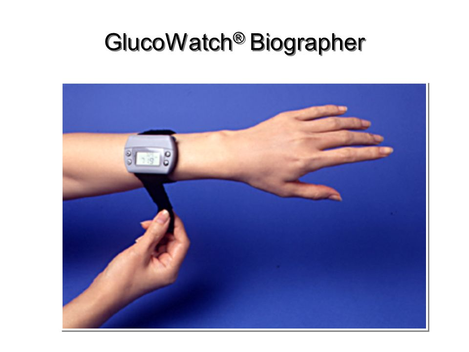 GlucoWatch® Biographer