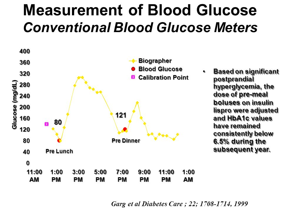 Measurement of Blood Glucose Conventional Blood Glucose Meters