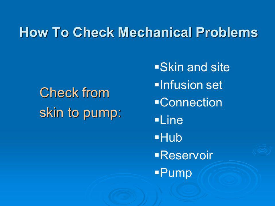 How To Check Mechanical Problems