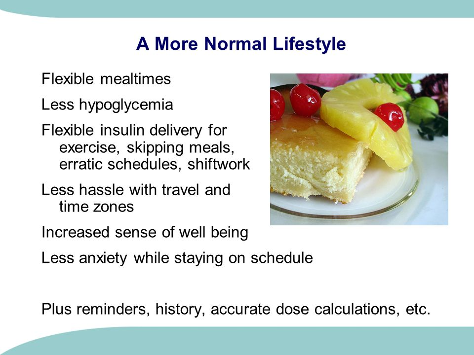 A More Normal Lifestyle