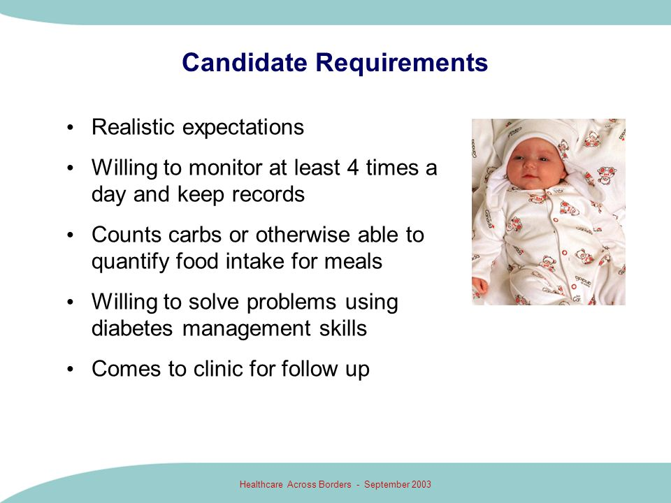 Candidate Requirements
