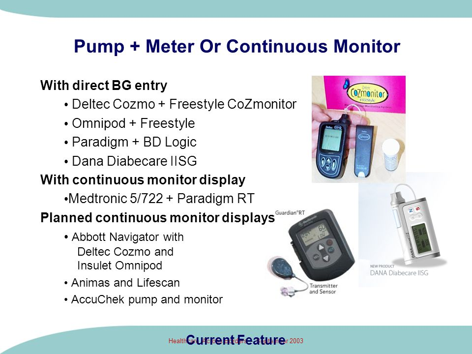 Pump + Meter Or Continuous Monitor