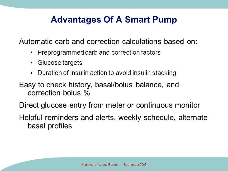 Advantages Of A Smart Pump