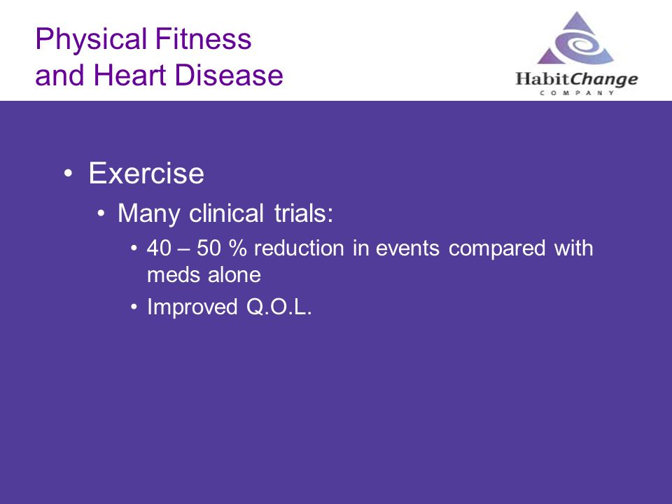 Physical Fitness and Heart Disease