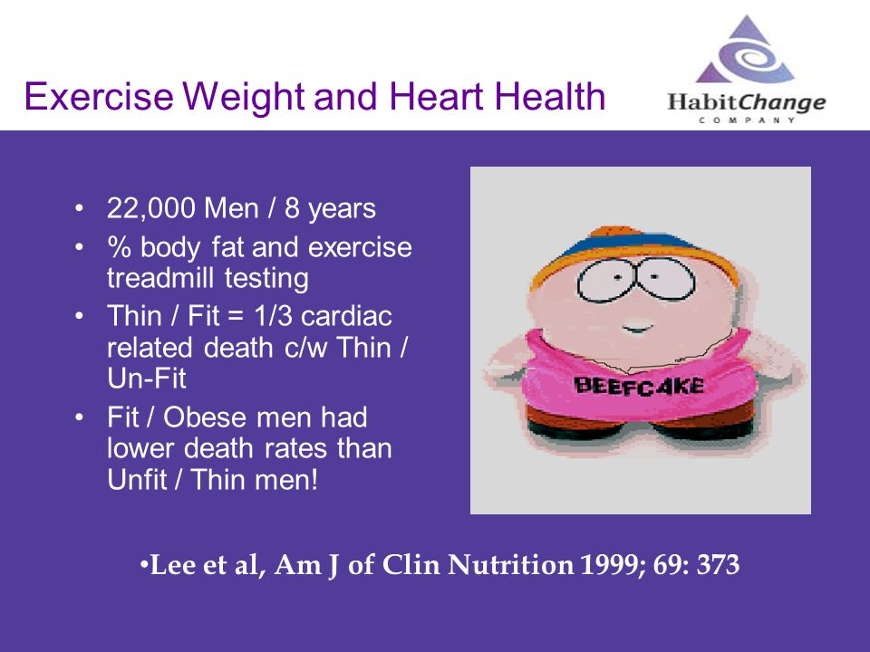 Exercise Weight and Heart Health