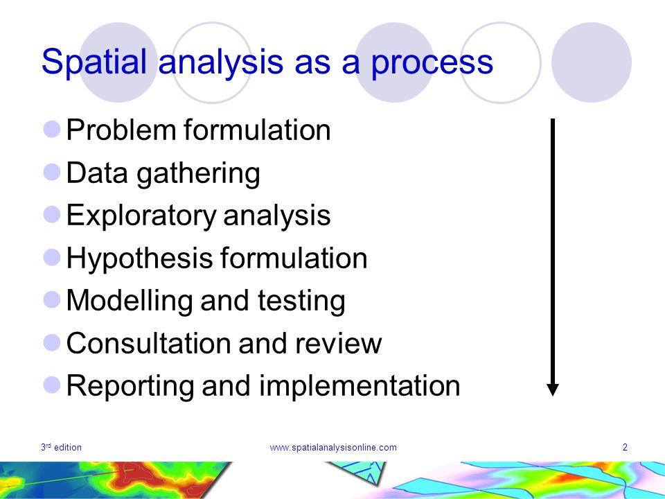 hypothesis formulation