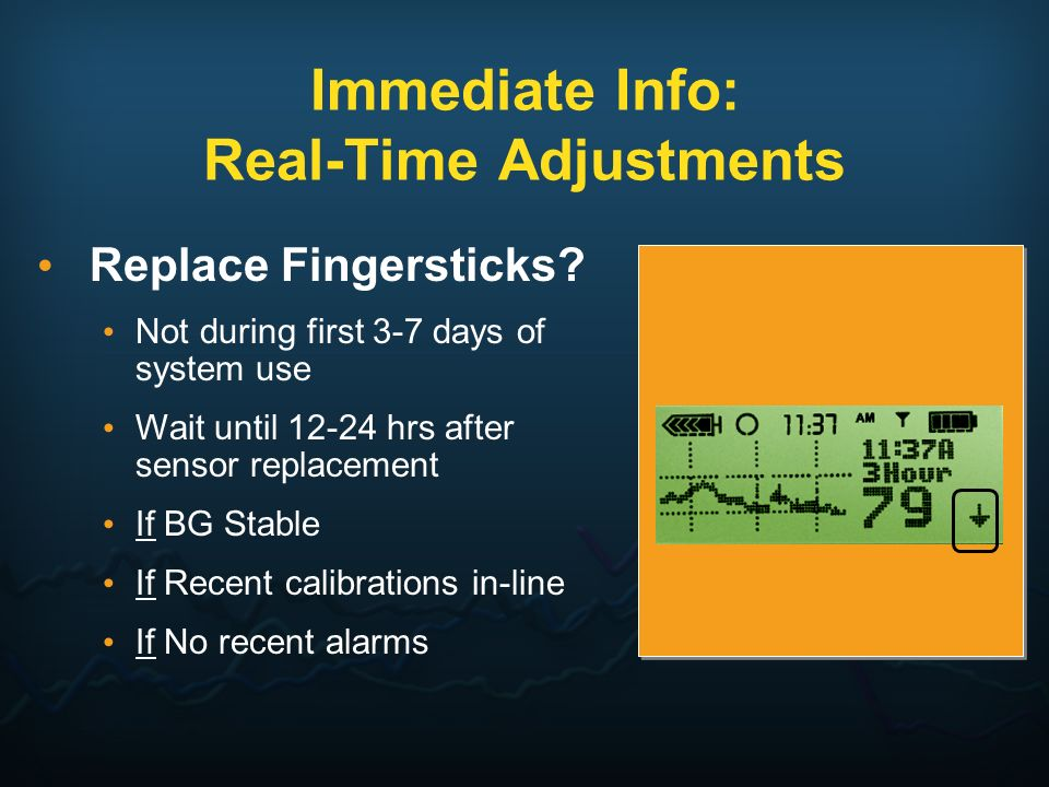 Immediate Info: Real-Time Adjustments