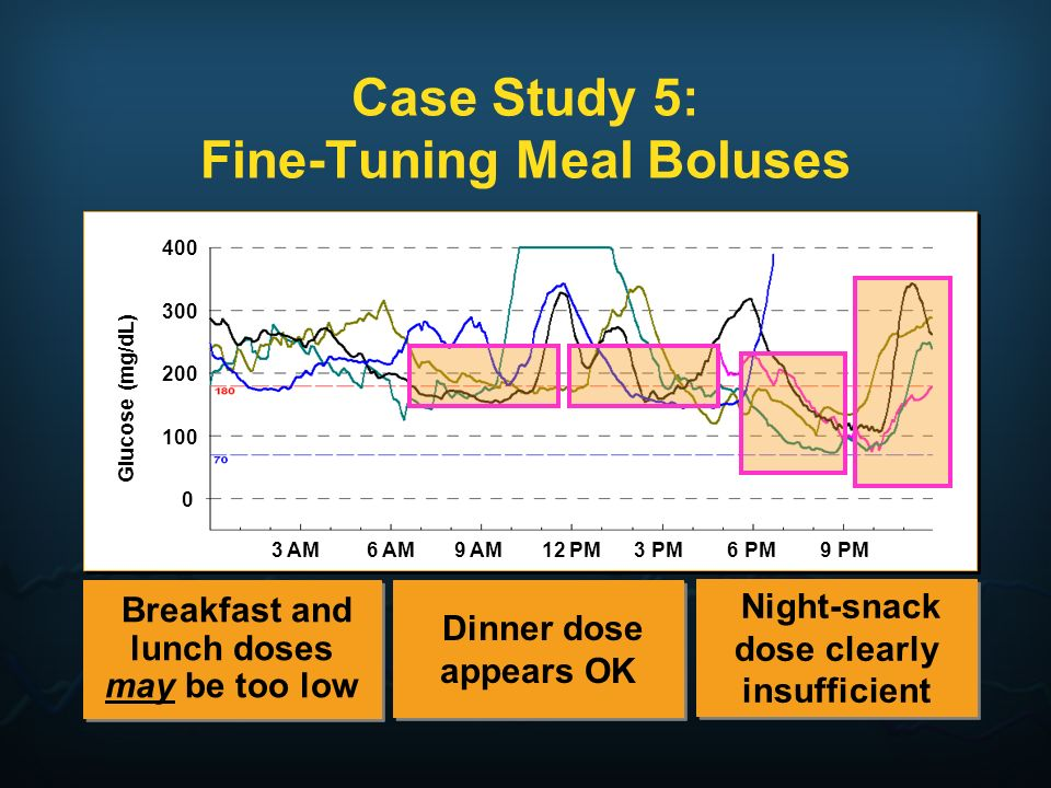 Case Study 5: Fine-Tuning Meal Boluses