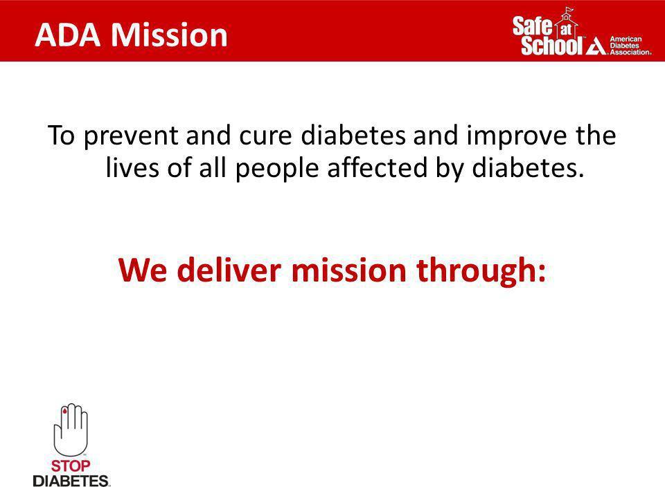 We deliver mission through: