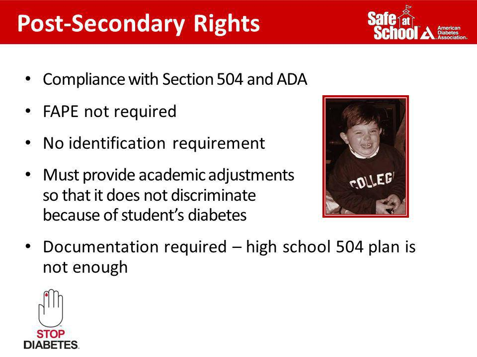 Post-Secondary Rights